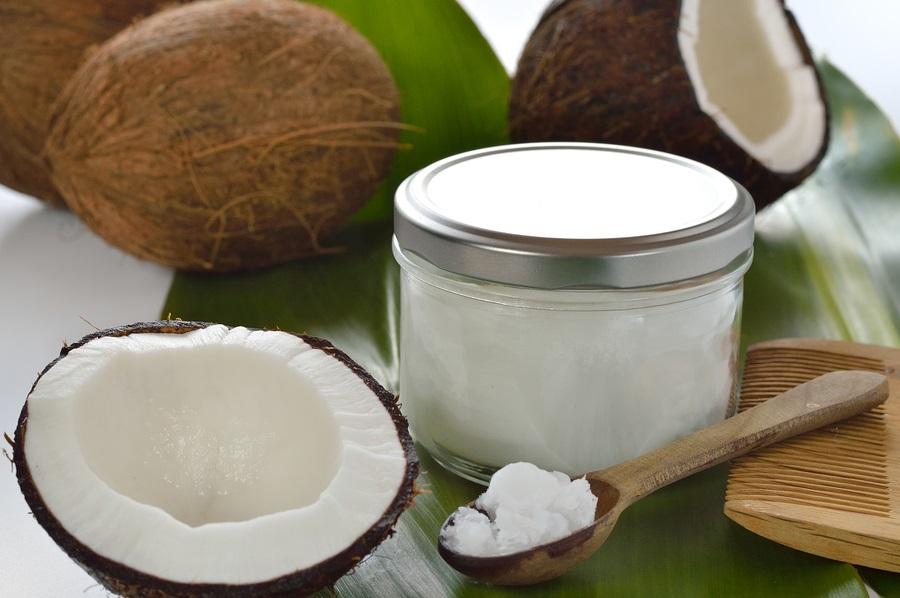 Unrefined virgin cold pressed coconut oil