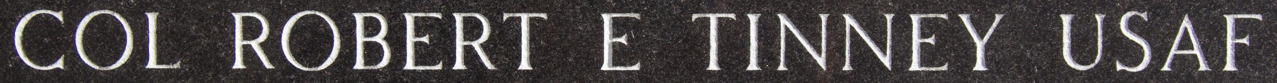 Example of Individual Granite Etching