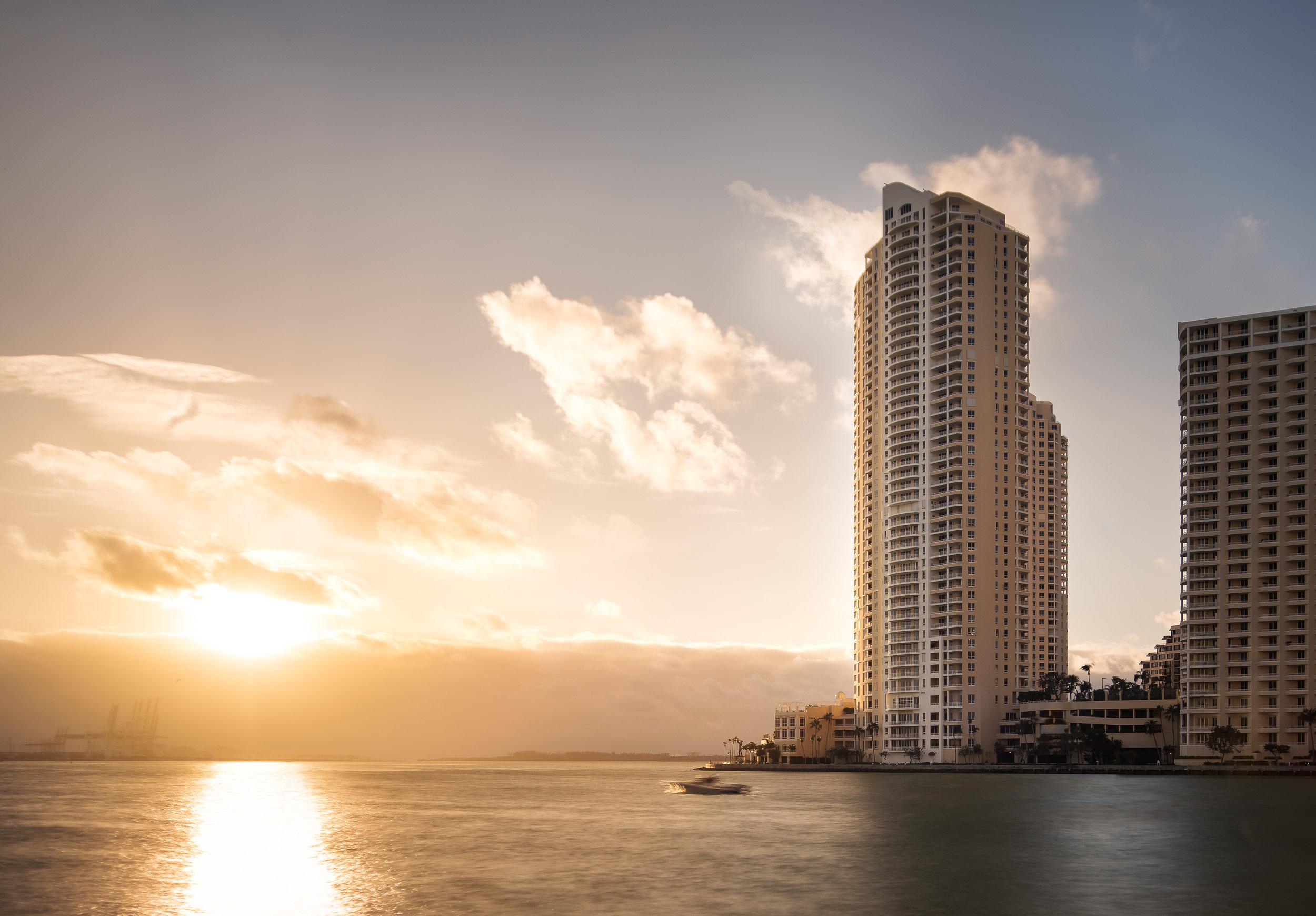 Three Tequesta Point at Brickell Key: Miami, Fl