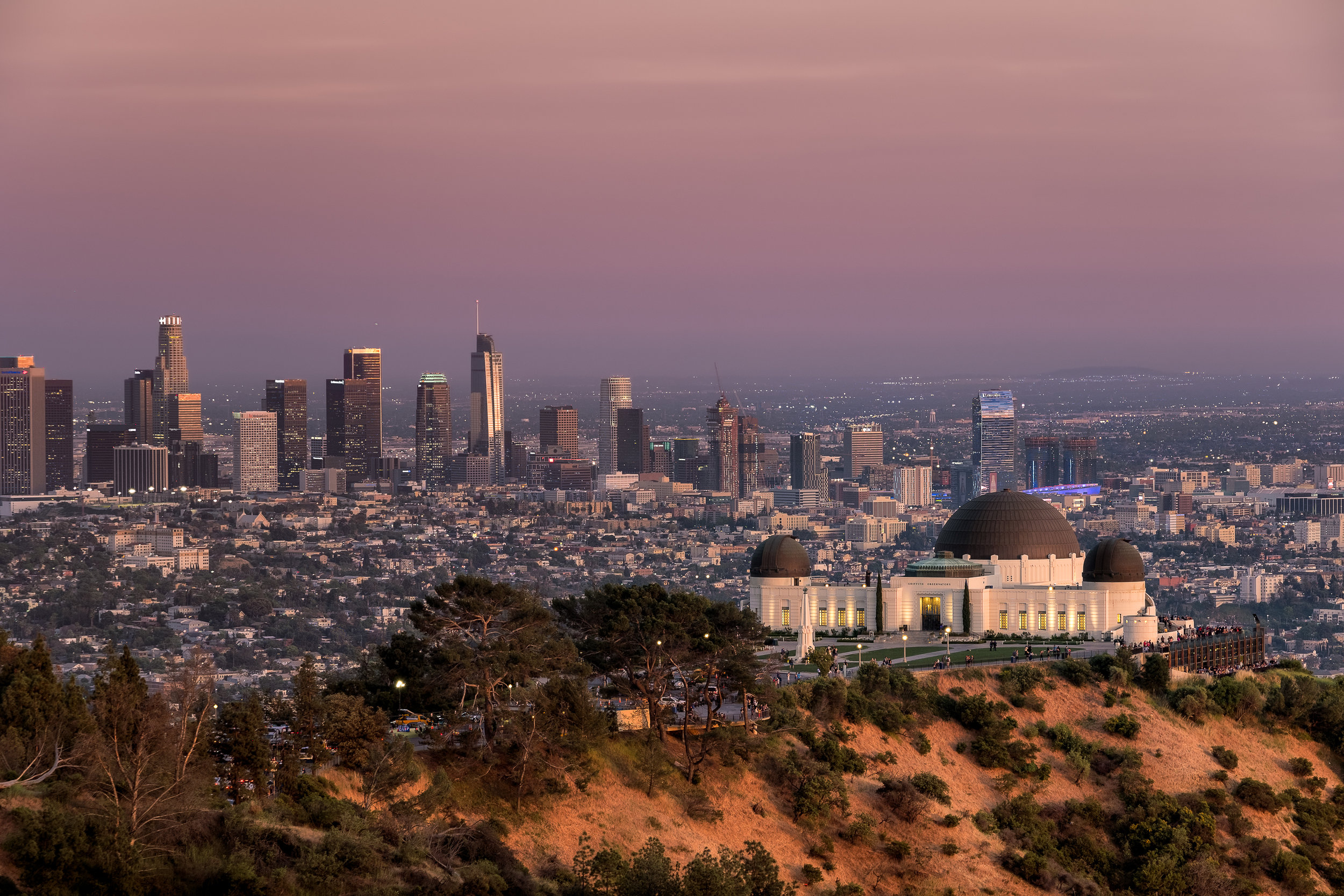 Griffith Observatory: Los Angeles, California