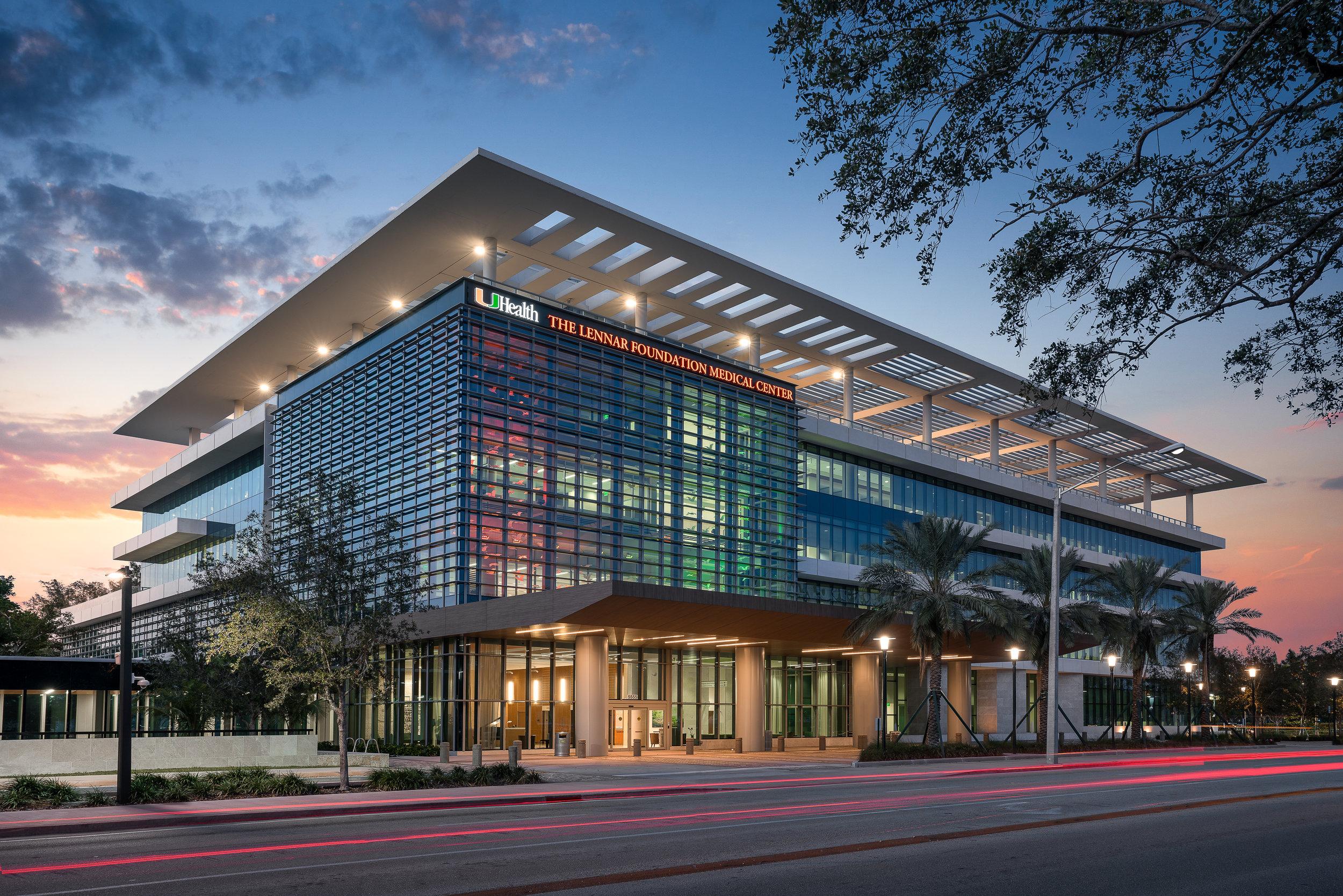 University of Miami The Lennar Medical Center: Miami, FL