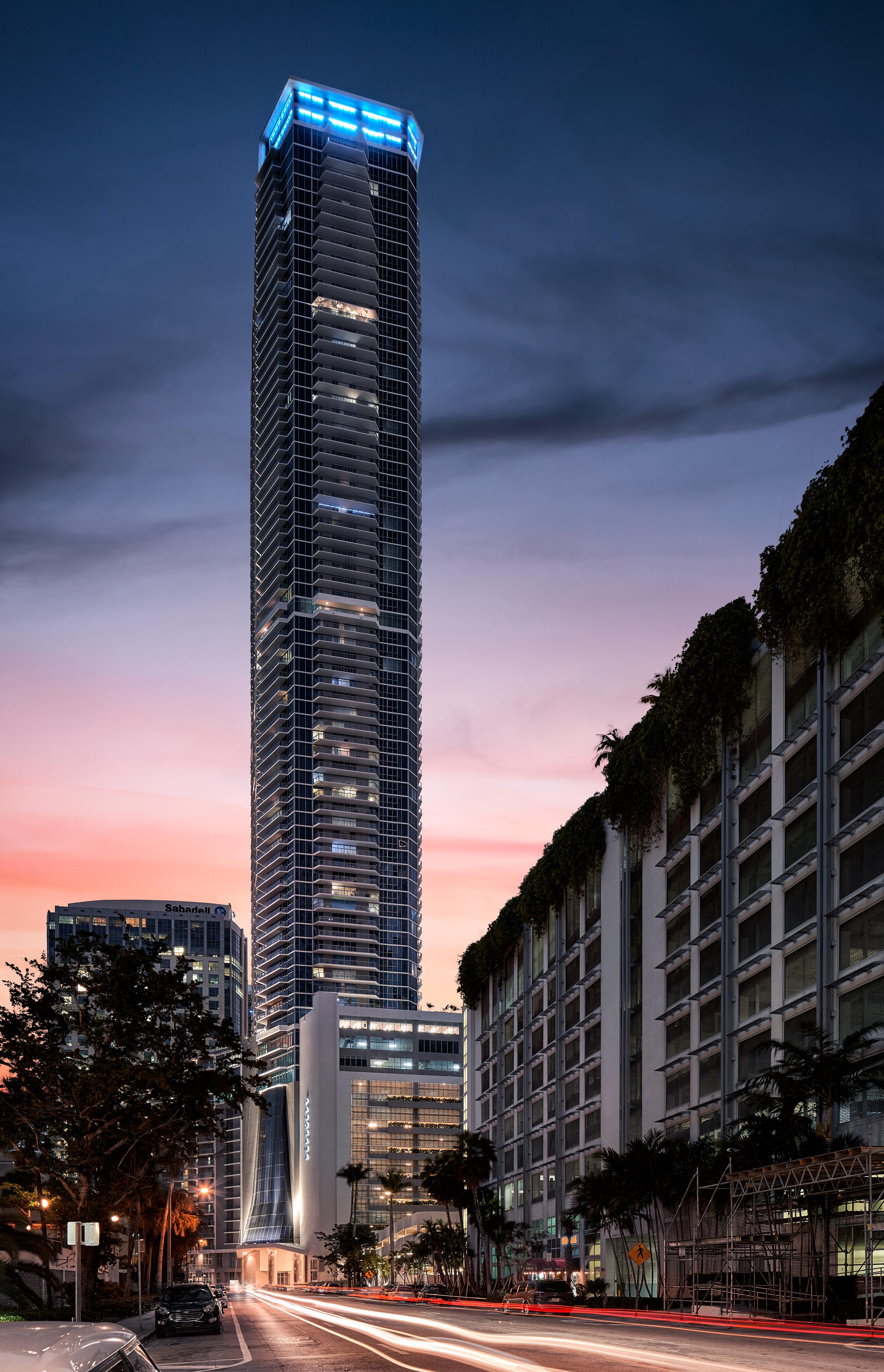 Panorama Tower: Brickell, Miami