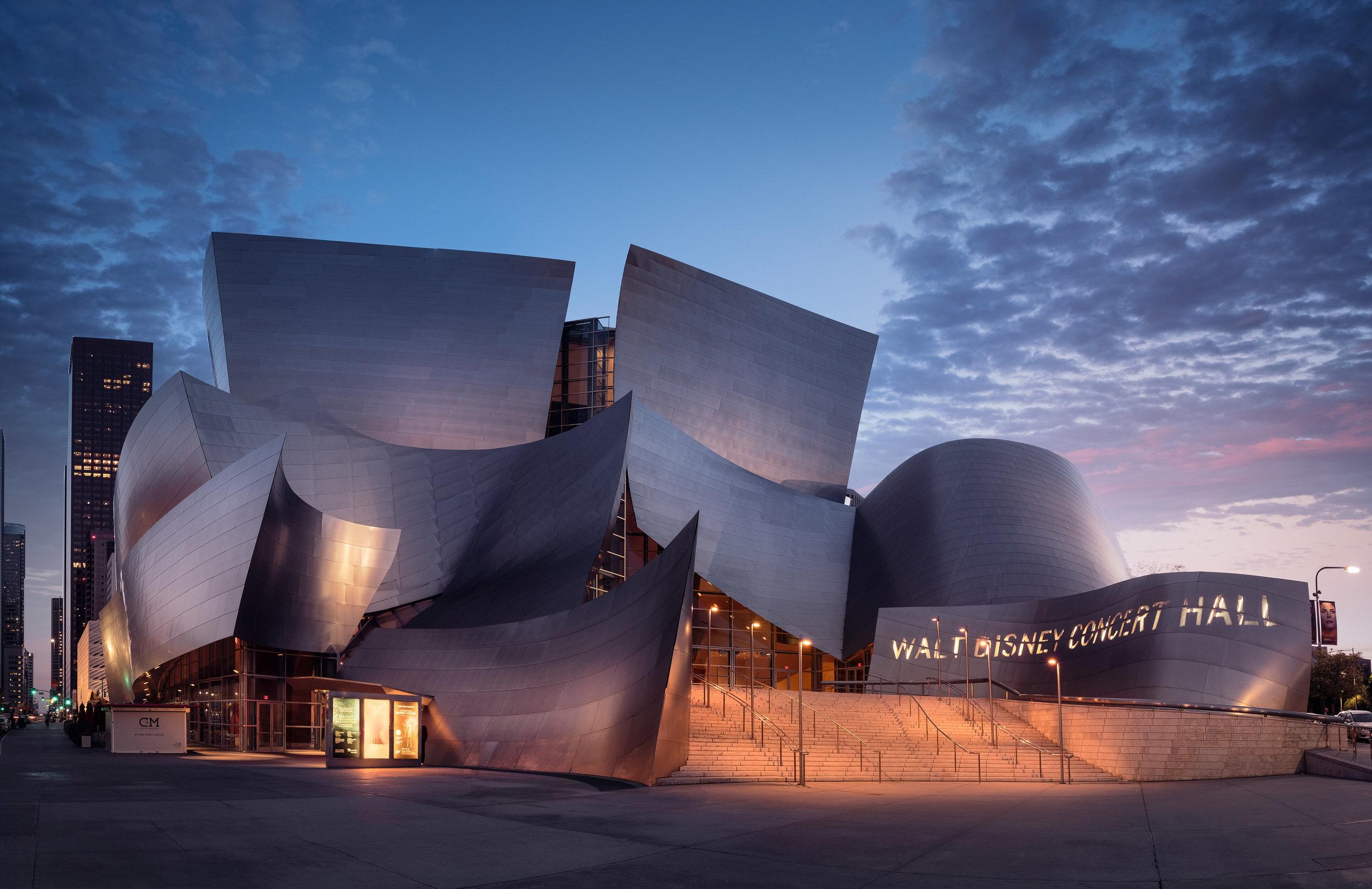 Walt Disney Concert Hall: Los Angeles, California