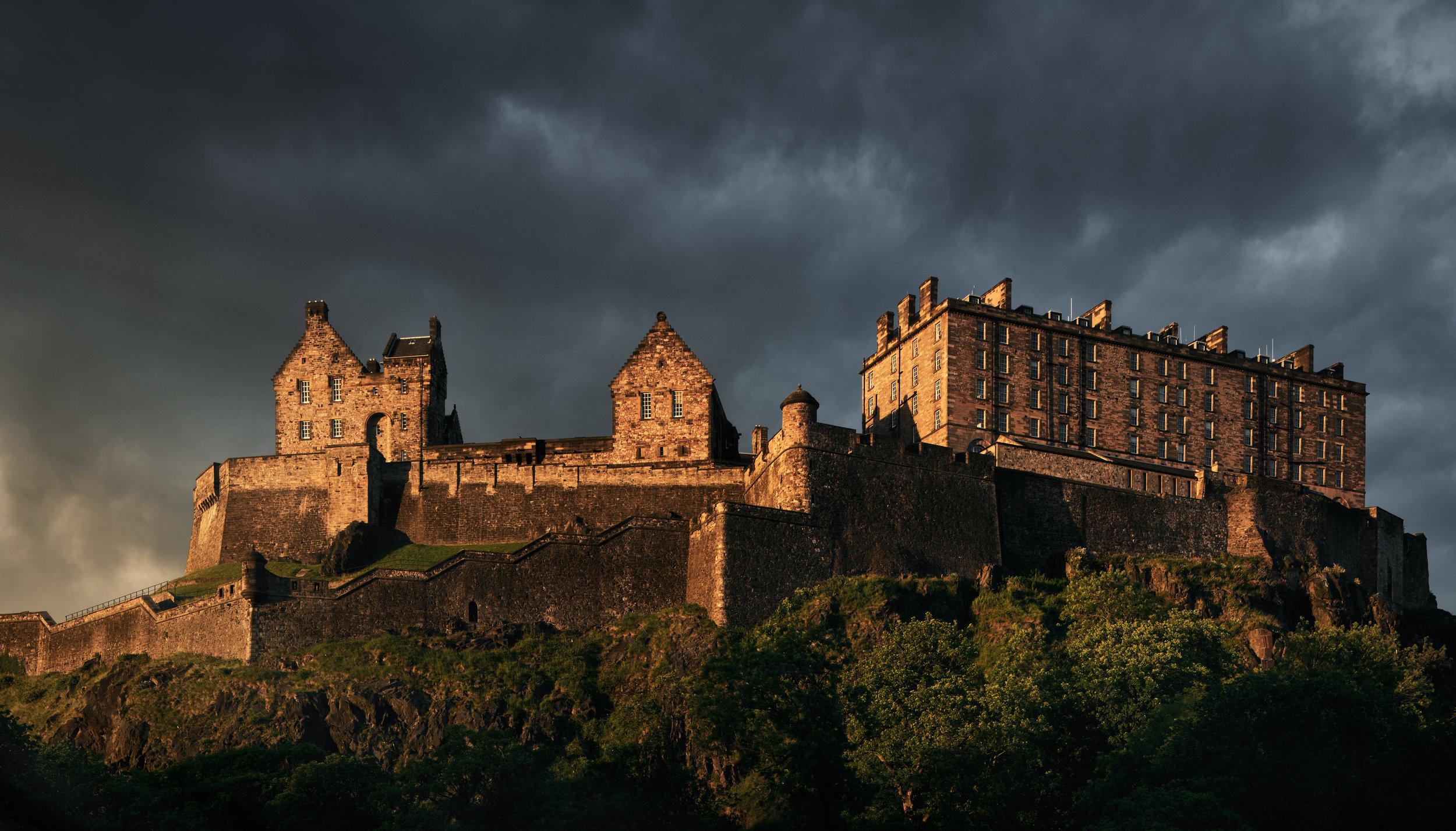 Edinburgh Castle: Edinburgh, U.K.