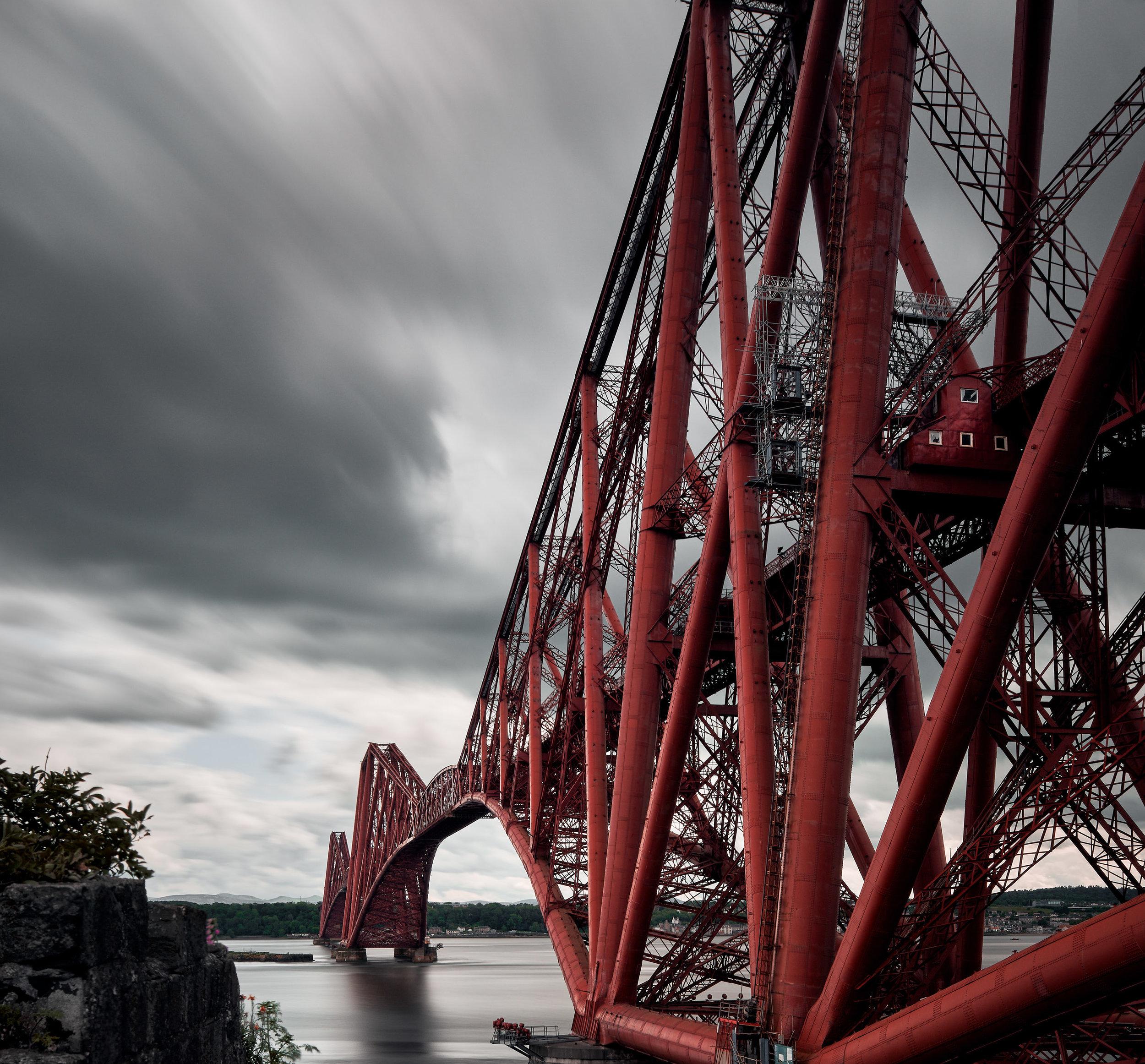 Forth Bridge: Edinburgh, U.K.