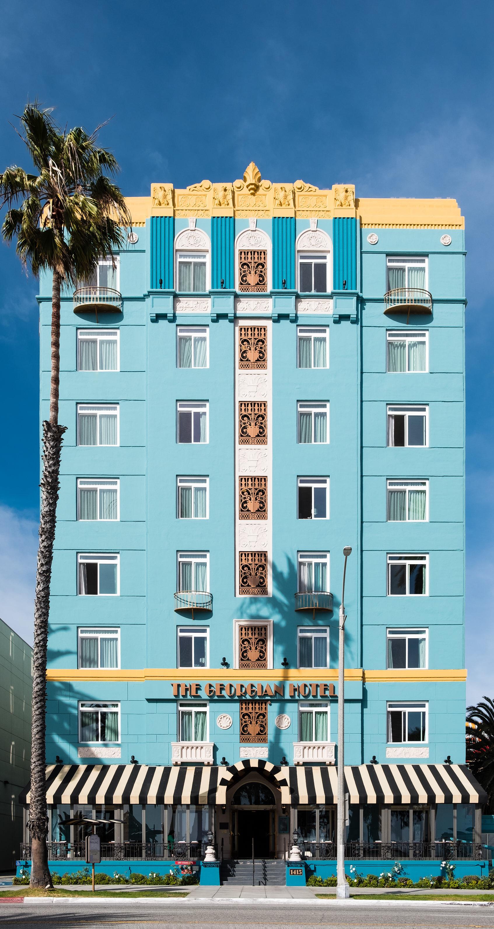 The Georgian Hotel: Santa Monica, California