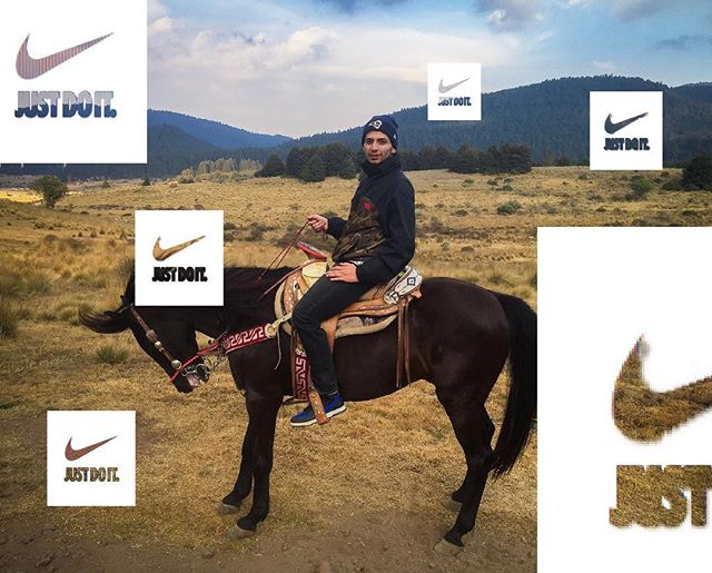Okay...I guess...▫️ . . . . . #nike#adventure#horse#nature#travel#justdoit#graphicdesign#designer#art#arte#mexico#style#riding#landscape#sneakers#hypebeast#composition#photography#nikesb#thenorthface
