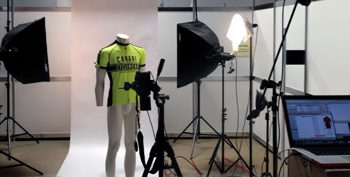 The Spring 2015 Canari Men's Cycling Jerseys are fitting well and looking great!