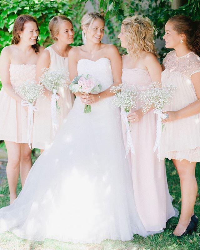 Vacker brud och tärnor i Sölvesborg. . #bröllop #wedding #bröllopsfotograföland #weddingphotography #swedishwedding #bröllopsfotografblekinge #blekinge #sölvesborg #öland #bride #bridesmaids #brud #brudtärnor