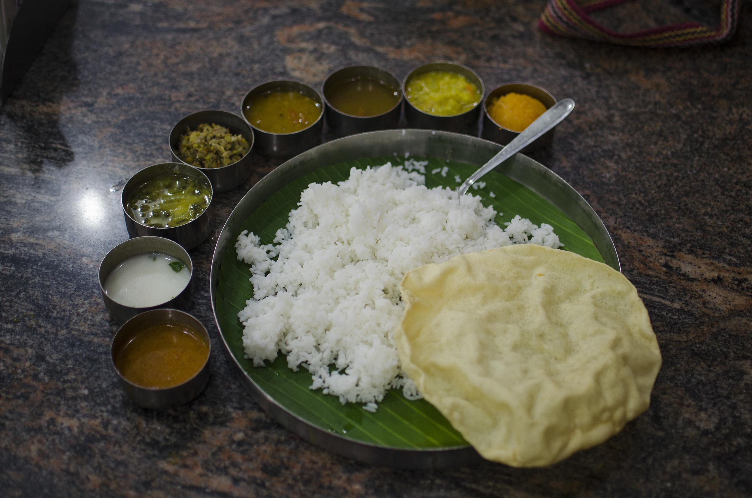 SO WE GO - Pondicherry Thali