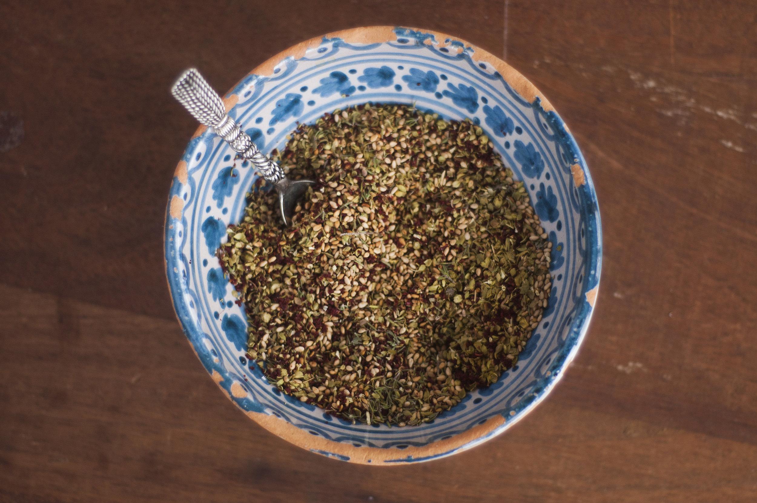 How to make Za'atar spice mix