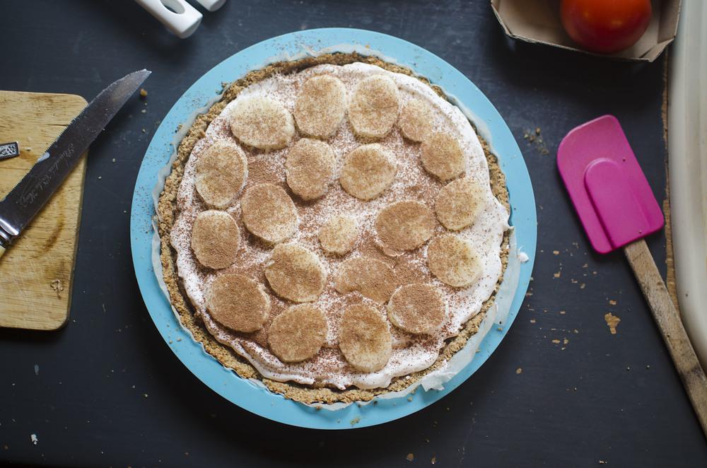 Nourishing Banoffee Pie Vegan