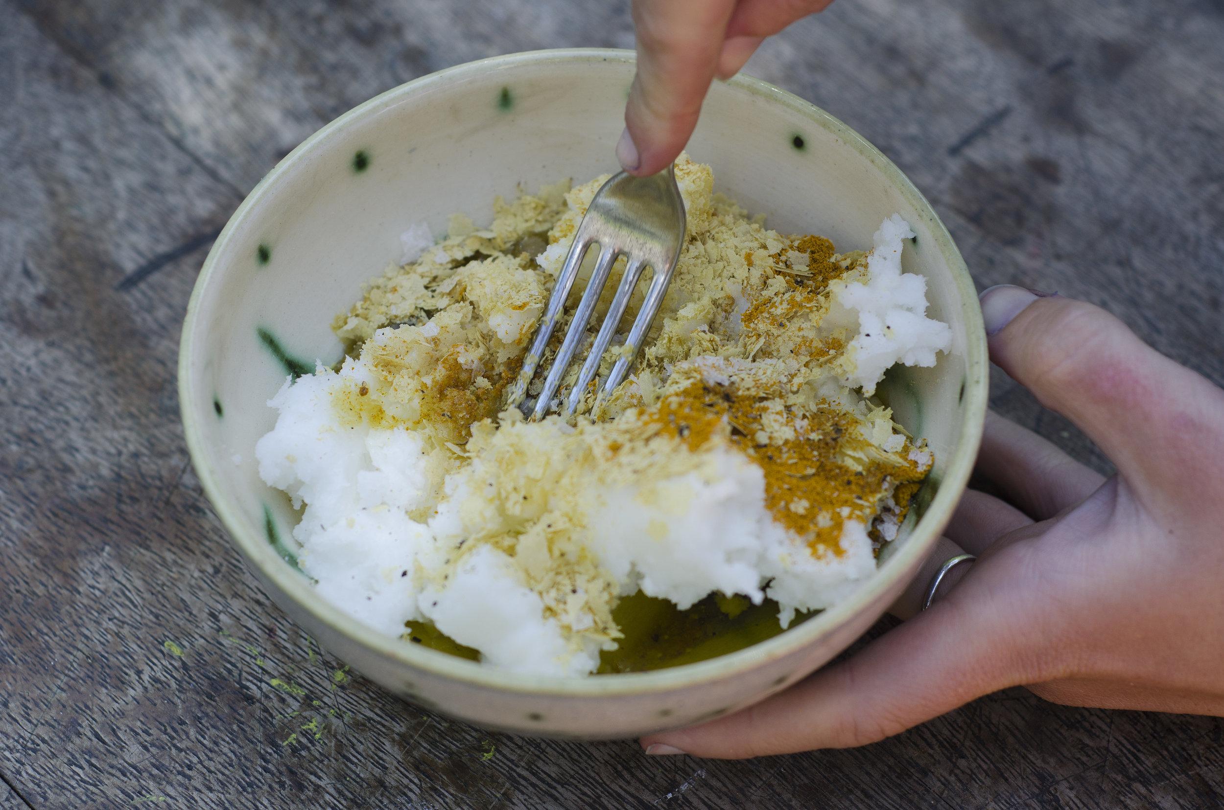 turmeric vegan butter
