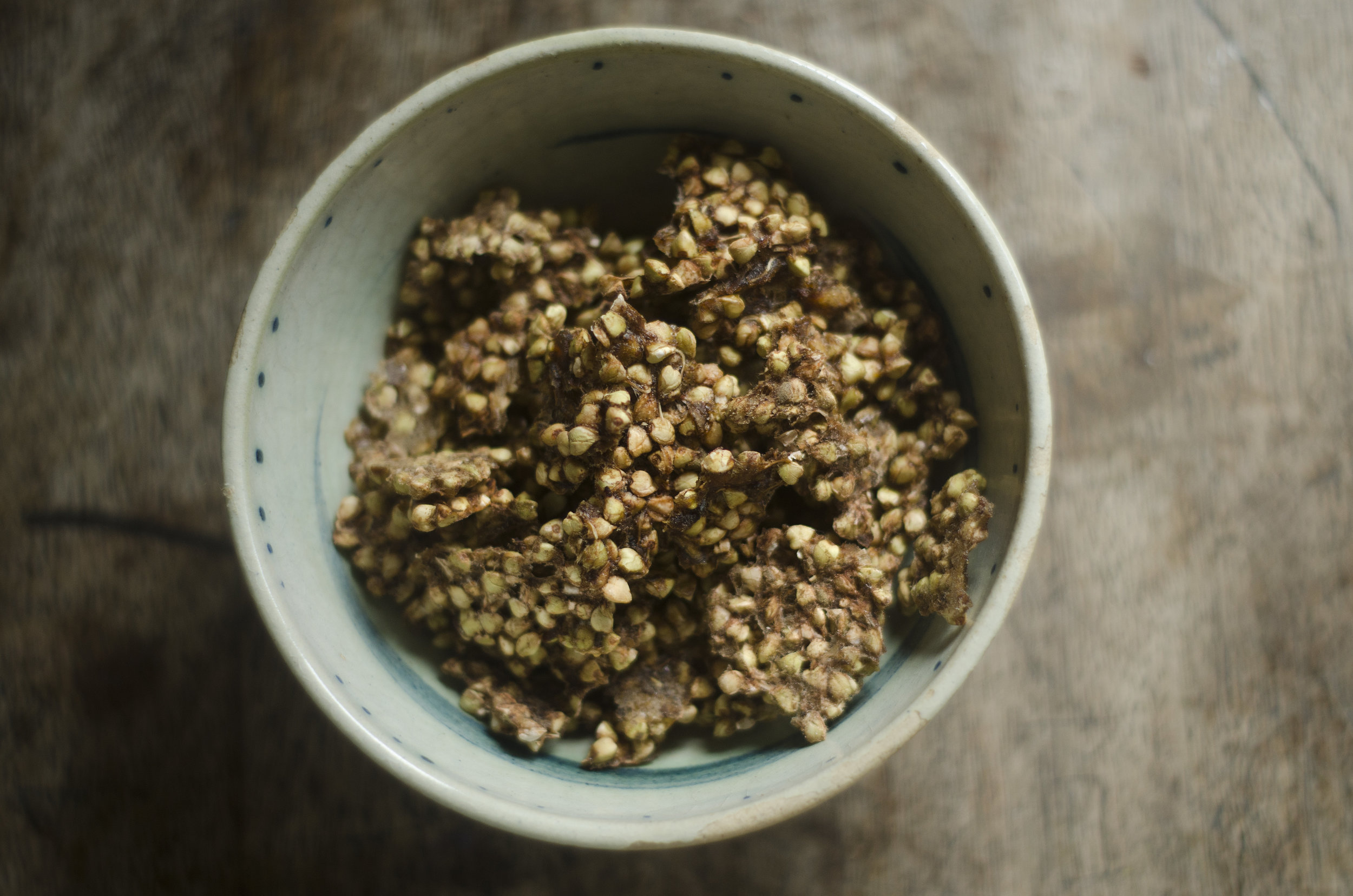 Sprouted Buckwheat Granola Raw