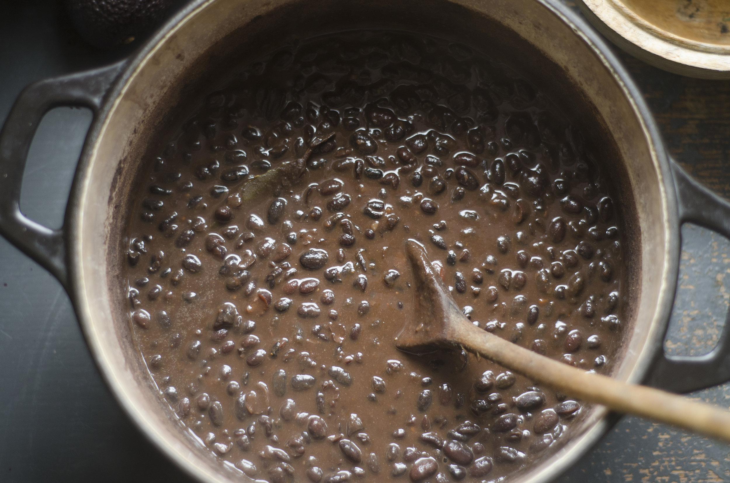 Smokey Mexican Black Beans