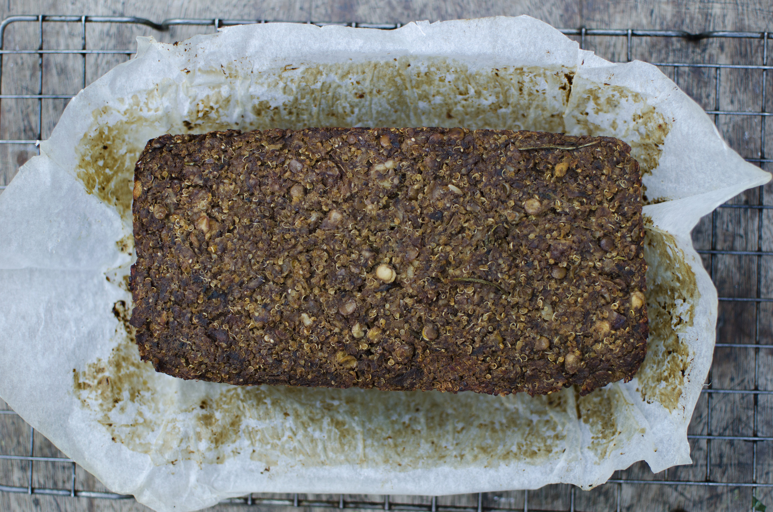 The ultimate vegan nut roast chestnuts quinoa mushrooms