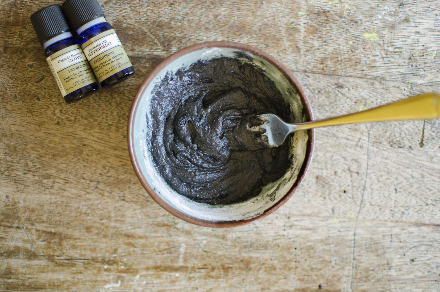 Natural Toothpaste With Activated Charcoal Coconut Oil