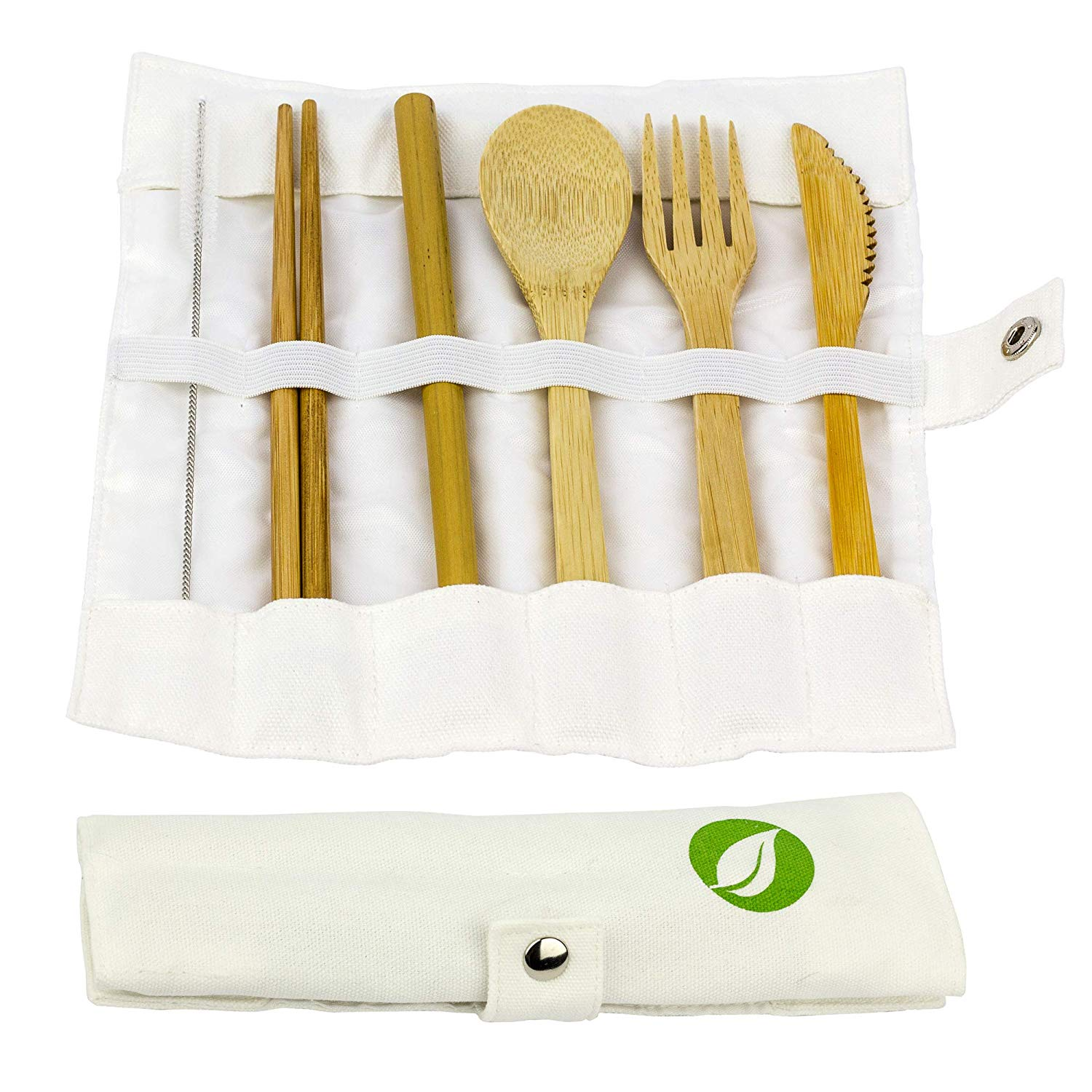 BAMBOO CUTLERY SET FOR TRAVEL