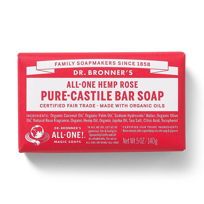 DR BRONNER'S ROSE SOAP