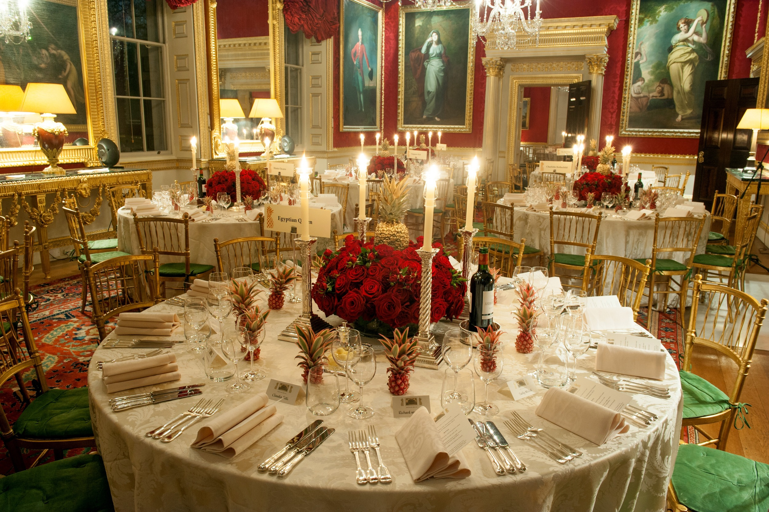 Dining in The Great Room