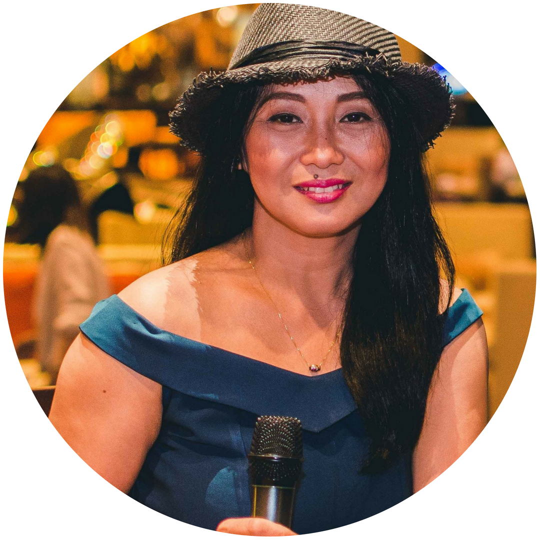 Maria Luzviminda Cachapero, Voice Coach - Maria Cachapero is a graduate of the Cultural Center of the Philippines, Manila in voice. She has extensively performed with live bands and orchestras since her college years and has toured across the Philippines, as well as Singapore, China, Malaysia, India, and Myanmar. A certified primary school teacher, she is currently a classroom teacher at the Khayay School and also teaches elementary choir.As a voice coach, she would like to instill confidence in her students with their voice and singing.