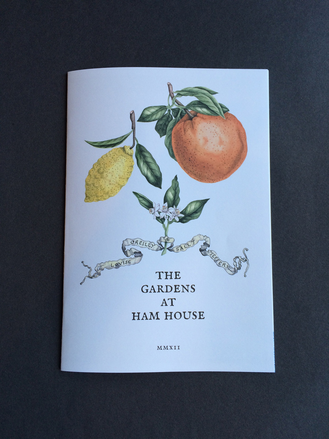 The Gardens at Ham House, 2012, front cover