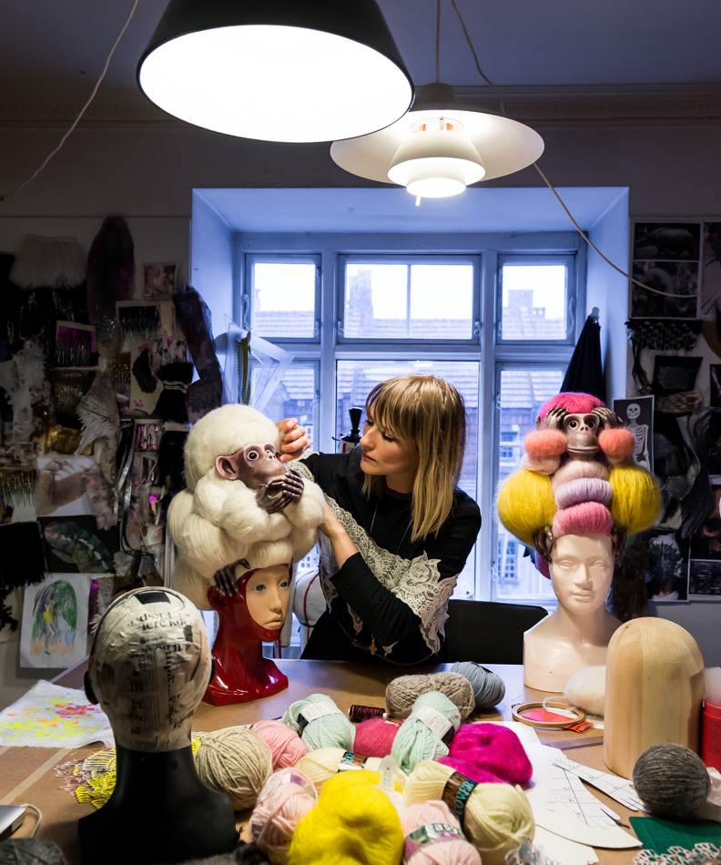 Nikoline Liv Andersen    B. 1979, fashion designer