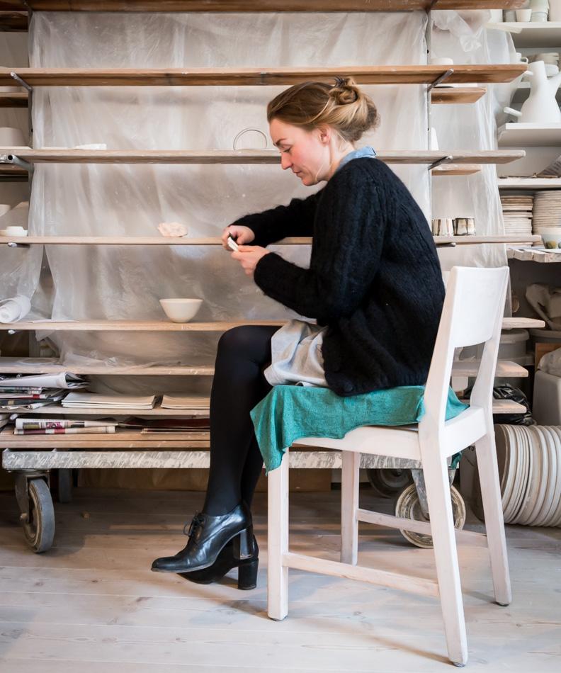 Marie Torbensdatter Hermann   B. 1979, ceramist