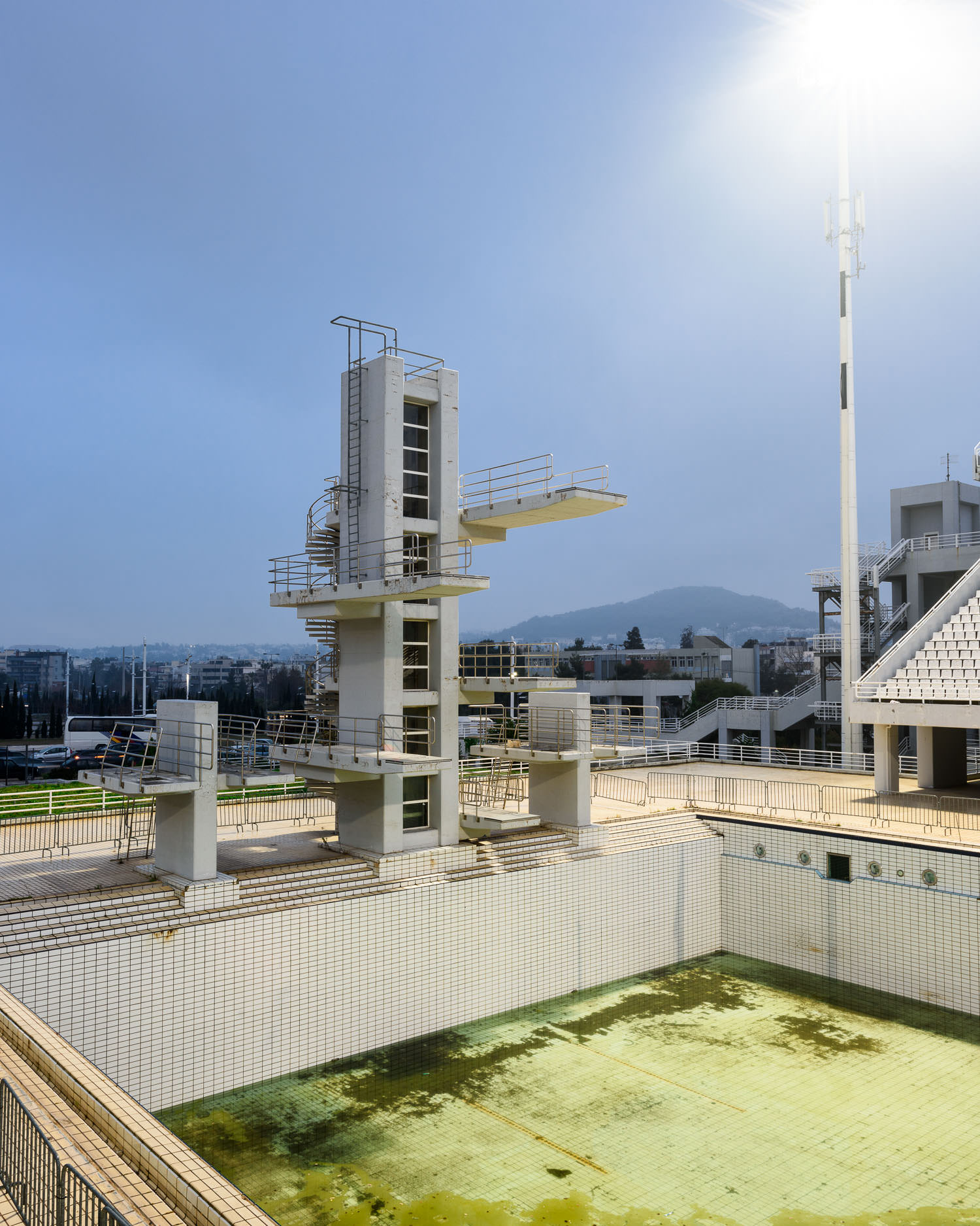 Outdoor Olympic Diving Pool, Athens Olympic Sports Complex (not in use)