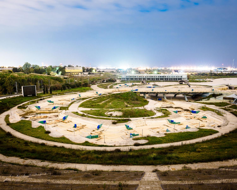 Olympic Canoe/Kayak Slalon Centre, Helliniko Olympic Complex (not in use)