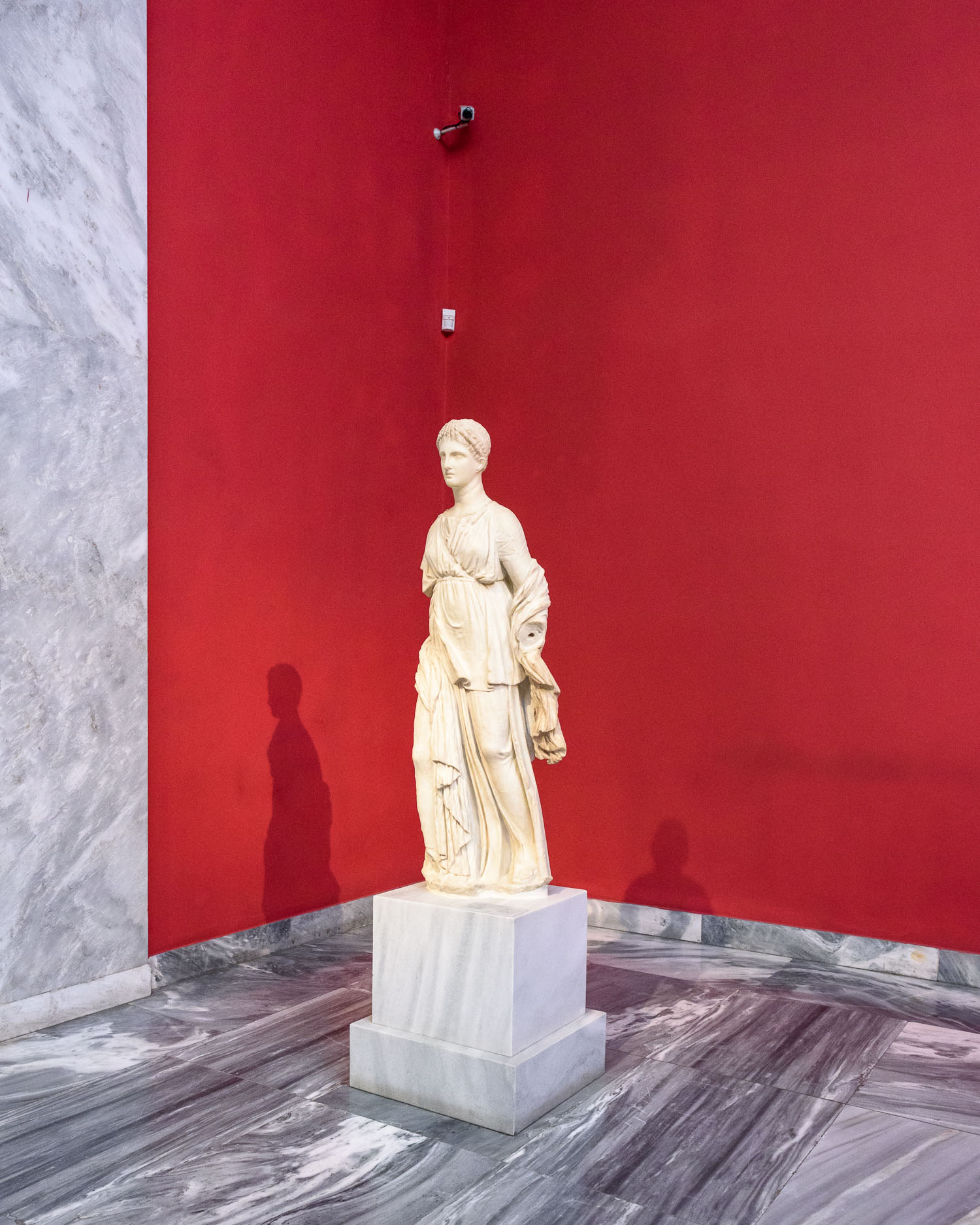 The National Archeolgical Museum of Athens, founded in 1829