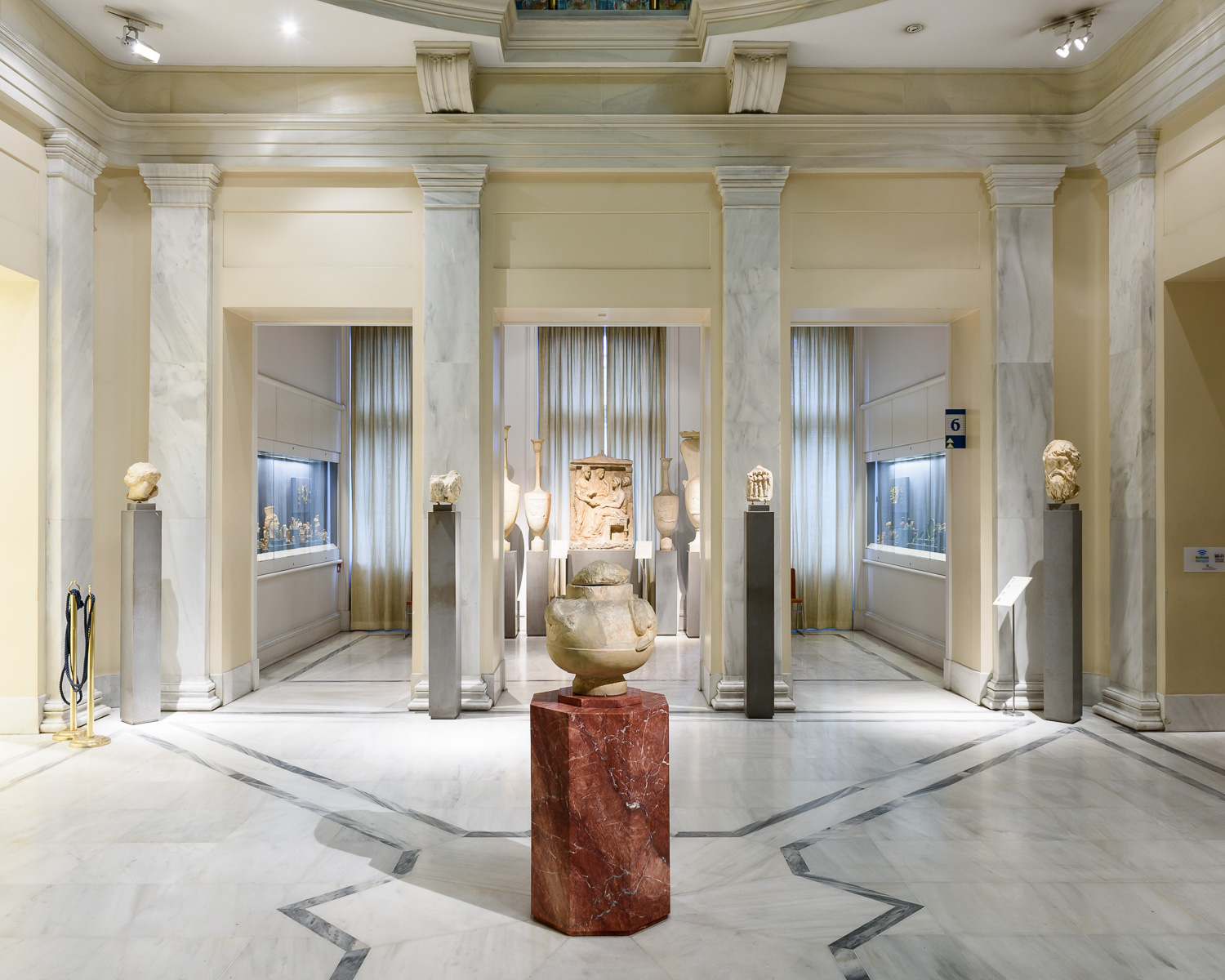 The Benaki Museum, founded in 1930. Includes Greek art from all periods.