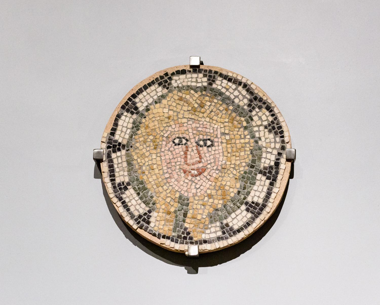 Mosaic at the Benaki Museum