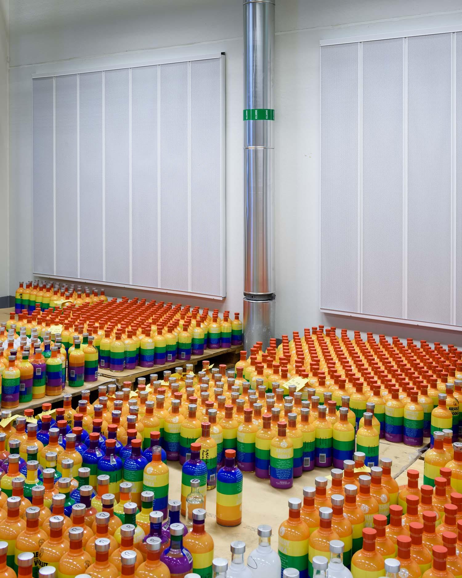 Bottle tests at the bottling plant in Åhus