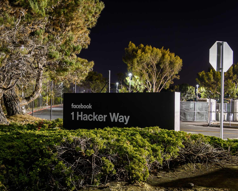 The new Facebook headquarters, Menlo Park