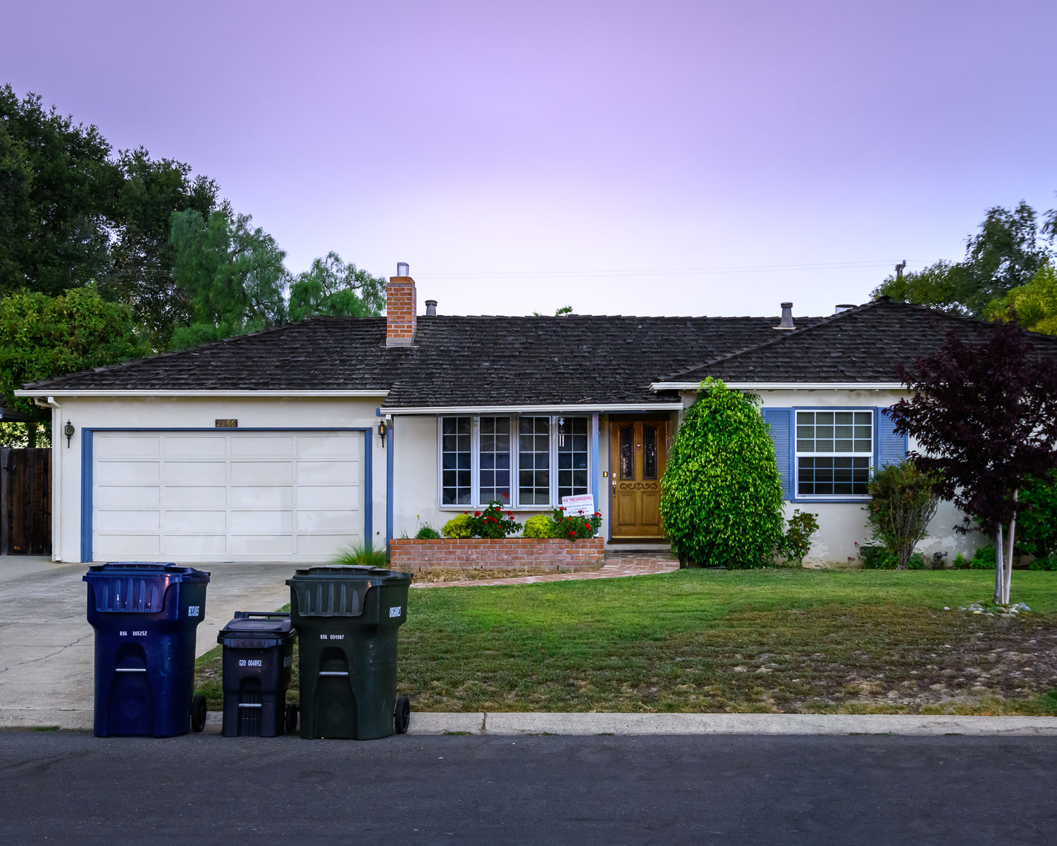 Steve Jobs' childhood home at 2066 Crist Drive in Los Altos. In 1976, together with Steve Wozniak, he built the first 50 Apple 1 computers in the garage which the pair sold to computer store in Mountain View for $500 each.