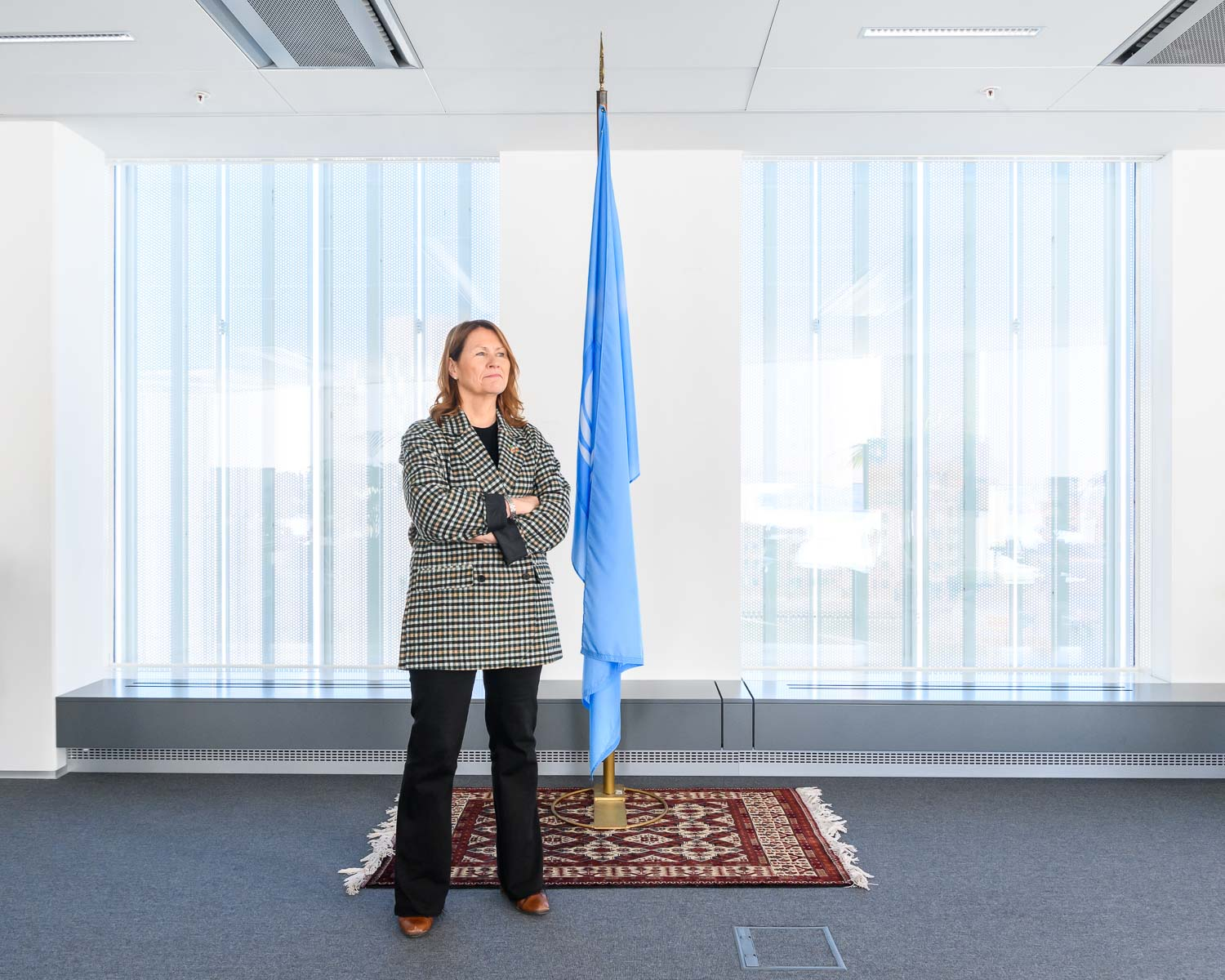 UNOPS Under-Secretary-General Grete Faremo shot for Harvard Business Review