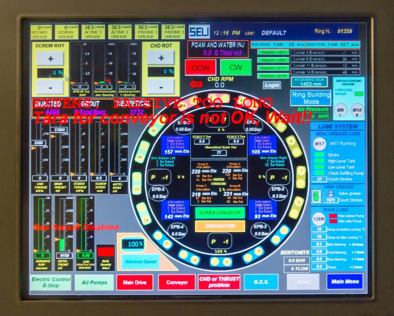 Drill control panel 2014