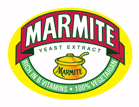 Simon helped bring Marmite to life at the Good Food Show