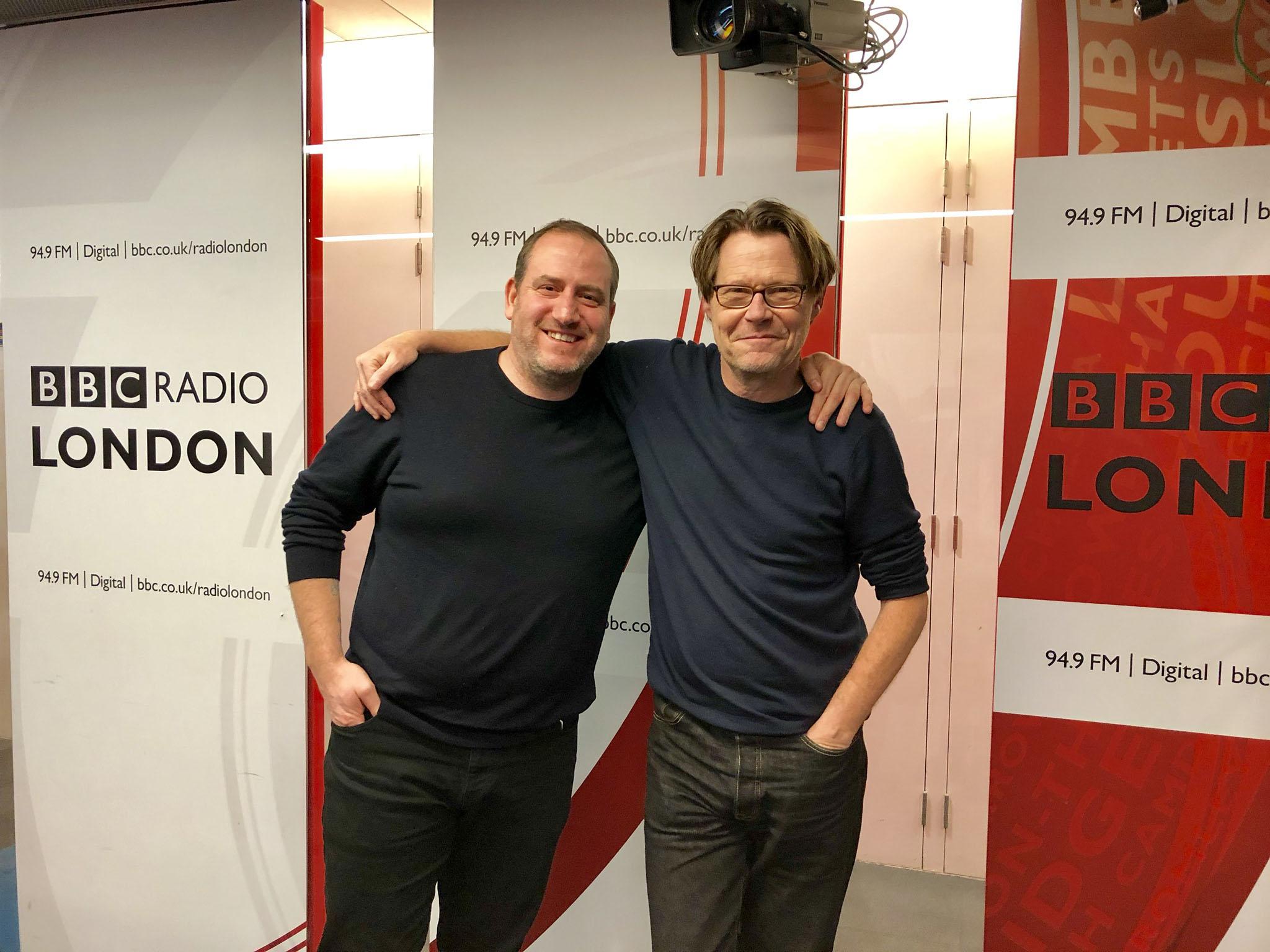 Simon Boyle on Robert Elms BBC Radio London show
