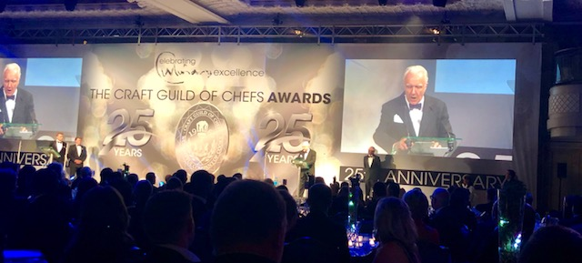 - Alain Ducasse at the Craft Guild of Chefs Awards