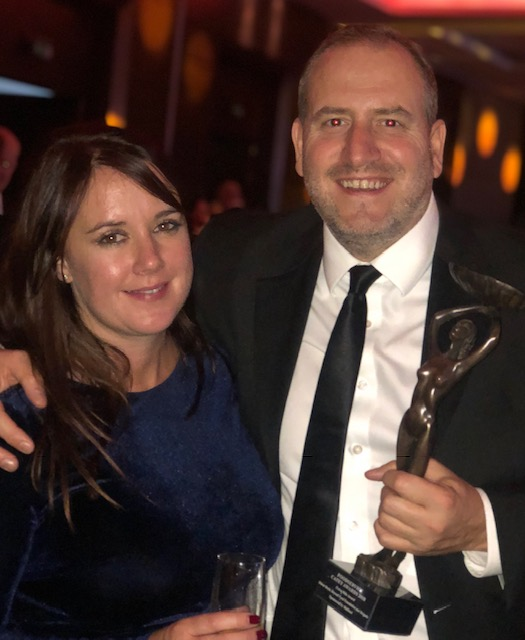 - Unexpectedly winning the Extra Mile award at the Cateys