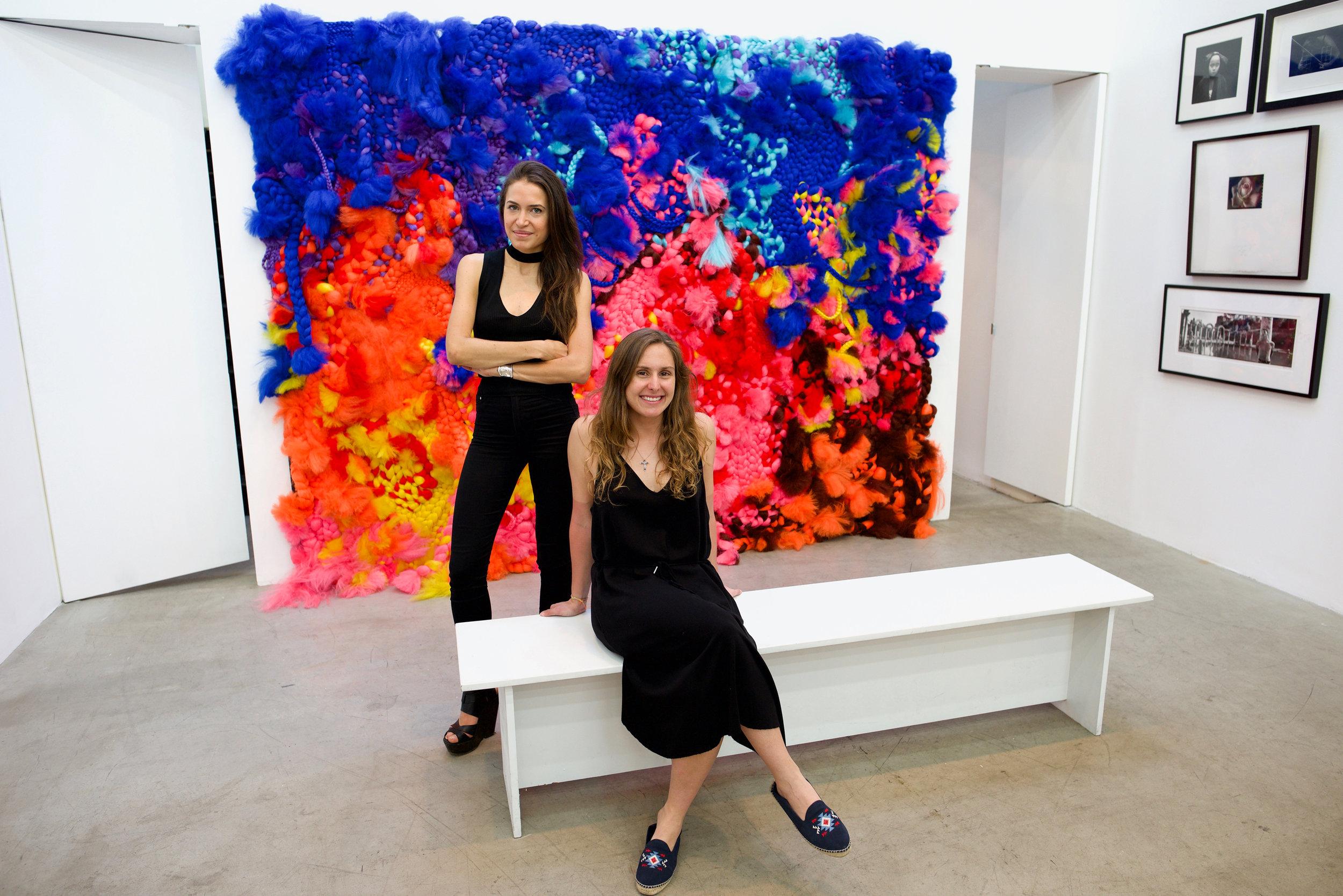 Renata Thome and Manuela Seve