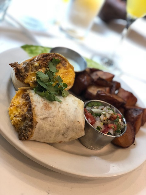 Joy Cafe Breakfast Burrito