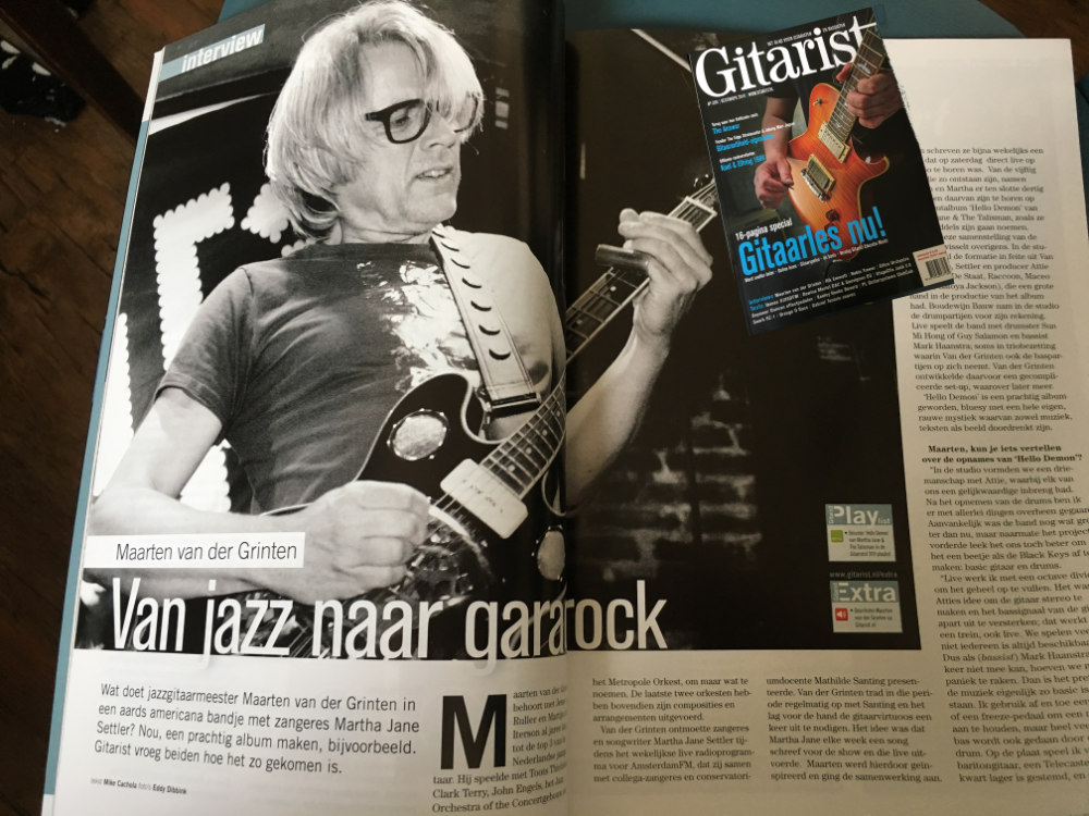 De Gitarist, December issue 2016