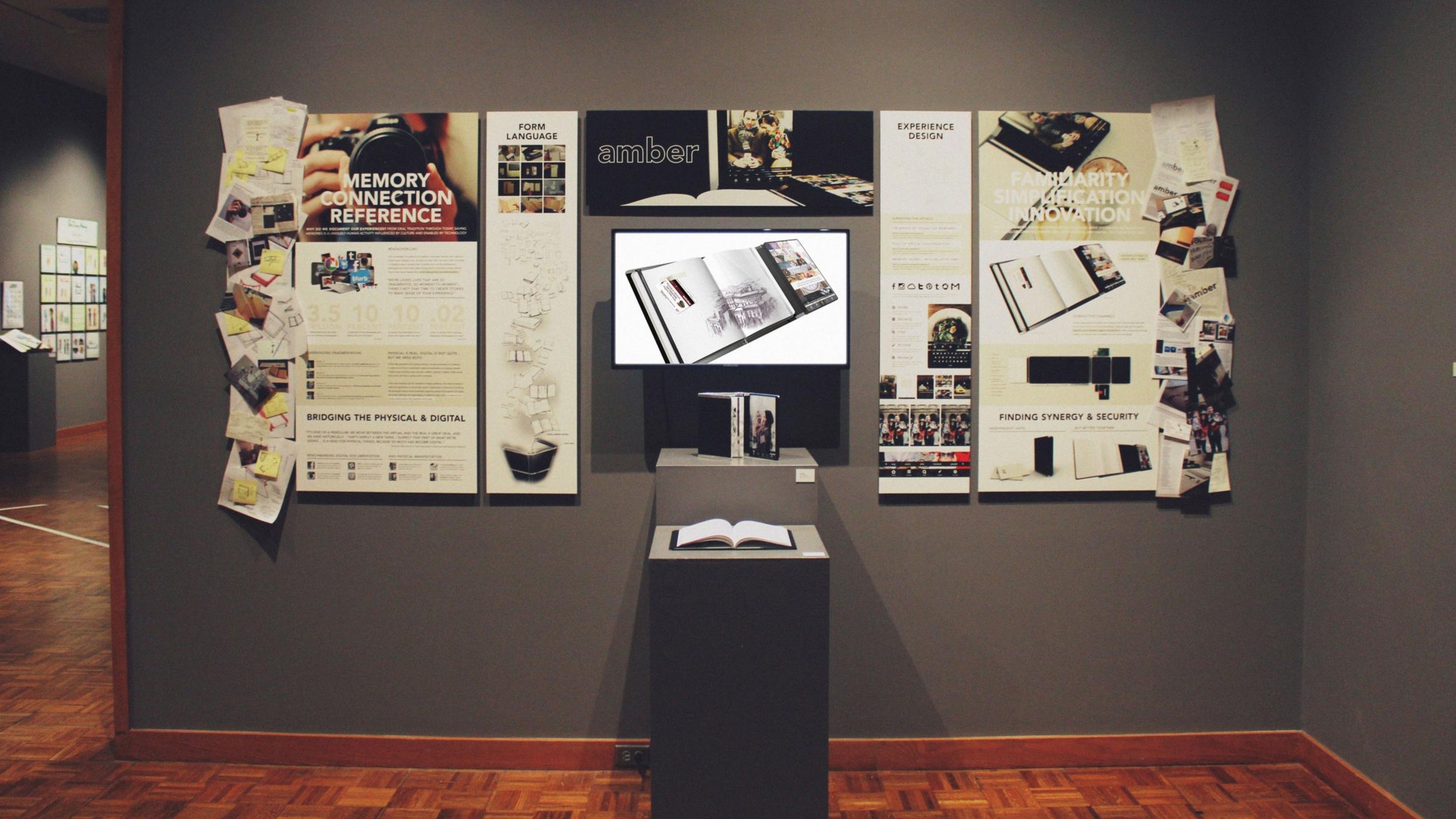 Exhibit in the  Snite Museum of Art .