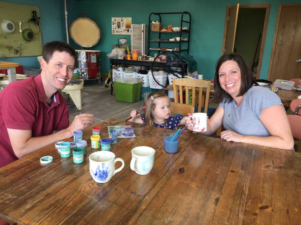 Drop-ins - Anyone can stop by on a Saturday to paint pottery or work with clay! We are open from 10am until 3pm. New hours added during the week. Click link for more info.