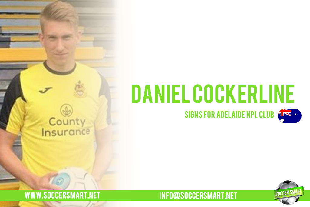 Daniel Cockerline is playing football abroad in Australia