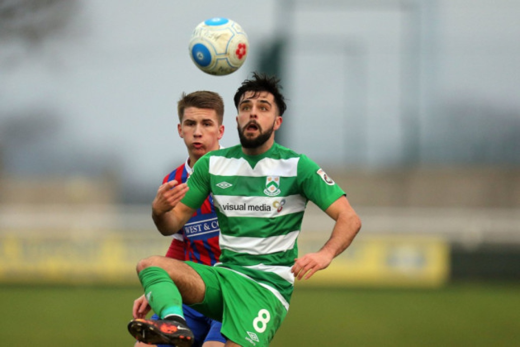 Bateson was one of North Ferriby's star men when they achieved promotion