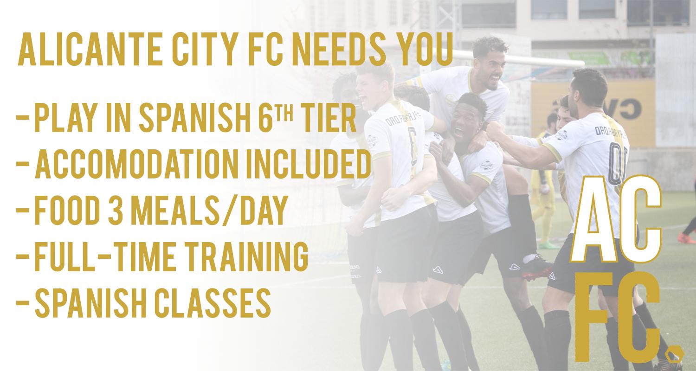 Alicante City need you!